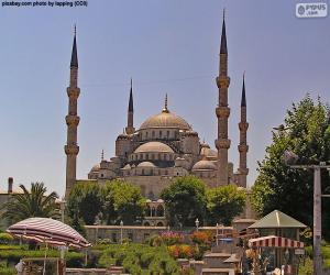 Rompicapo di Moschea Blu, Turchia