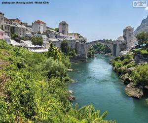 Rompicapo di Mostar, Bosnia Erzegovina