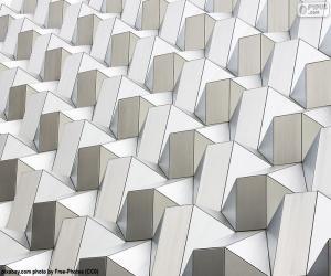 Rompicapo di Motivo geometrico