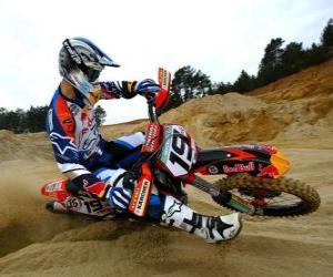 Rompicapo di Motocross