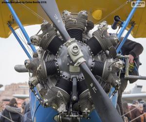 Rompicapo di Motore biplano