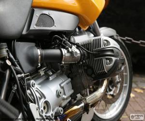 Rompicapo di Motore boxer BMW
