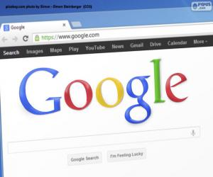Rompicapo di Motore di ricerca di Google