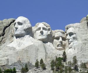 Rompicapo di Mount Rushmore, Stati Uniti