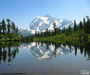 Rompicapo di Mount Shuksan, Washington