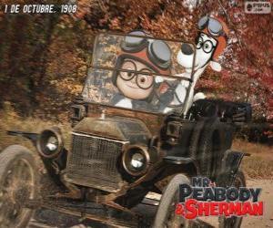 Rompicapo di Mr Peabody e Sherman nel suo viaggio per l'anno 1908