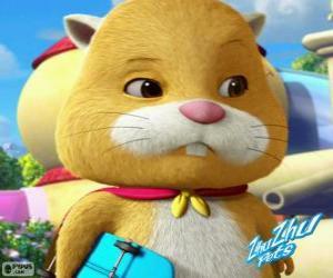 Rompicapo di Mr. Squiggles indossa il suo mantello