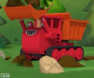 Rompicapo di Muck, il bruco camion