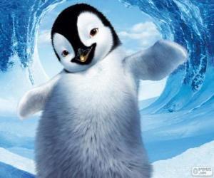 Rompicapo di Mumble è un pinguino imperatore