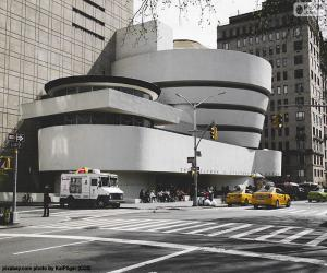 Rompicapo di Museo Guggenheim a New York