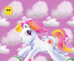 Rompicapo di My Little Pony in esecuzione