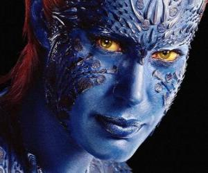 Rompicapo di Mystica è una supercriminale mutante umana che si può trasformare in qualsiasi umanoide