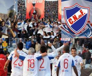 Rompicapo di Nacional de Montevideo, campione del calcio 2011-2012 de Uruguay