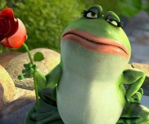 Rompicapo di Nanette, la rana di giardino