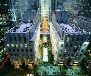 Rompicapo di Natale a Rockefeller Center