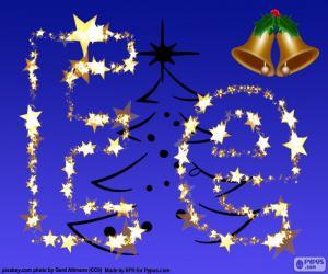 Rompicapo di Natale con la lettera E