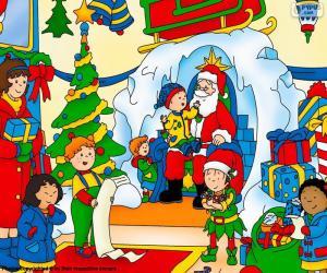 Rompicapo di Natale di Caillou