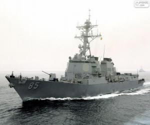 Rompicapo di Nave da guerra, cacciatorpediniere