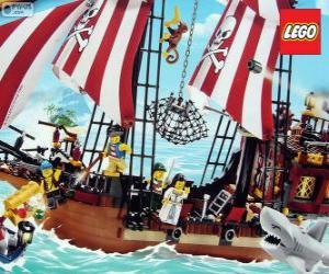 Rompicapo di Nave pirata de Lego