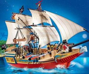 Rompicapo di Nave pirata Playmobil