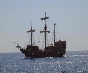 Rompicapo di Nave pirata
