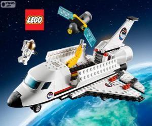 Rompicapo di Navetta spaziale di Lego City
