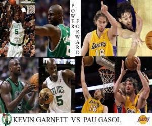 Rompicapo di NBA finale 2009-10, Ala grande, Kevin Garnett (Celtics) vs Pau Gasol (Lakers)