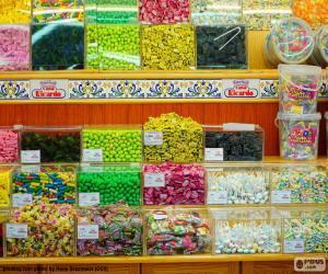 Rompicapo di Negozio di caramelle