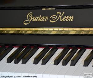 Rompicapo di Nero pianoforte