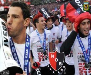 Rompicapo di Newell's Old Boys, campione del Torneo Finale 2013 Argentina