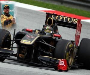 Rompicapo di Nick Heidfeld - Renault - Sepang, Gran Premio della Malesia (2011) (3 ° posto)