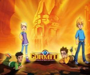 Rompicapo di Nick, Toby, Lucas e Jessica, quattro amici che diventano i Signori della Natura per salvare Gorm