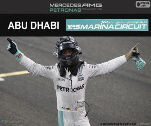 Rompicapo di Nico Rosberg, campione F1 2016