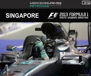 Rompicapo di Nico Rosberg, GP Singapore 2016