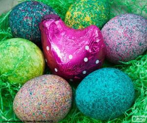 Rompicapo di Nido di Pasqua