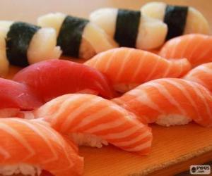 Rompicapo di Nigiri Sushi