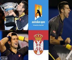 Rompicapo di Novak Djokovic Campione Australian Open 2013