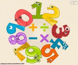 Rompicapo di Numeri e simboli