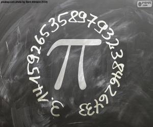 Rompicapo di Numero π (pi)
