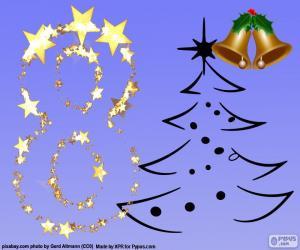 Rompicapo di Numero 8 per Natale
