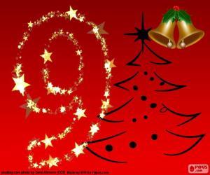 Rompicapo di Numero 9 Natale