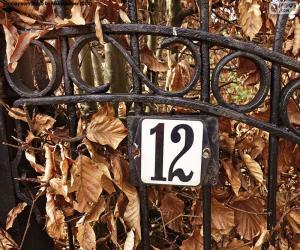 Rompicapo di Numero dodici