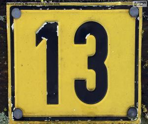 Rompicapo di Numero tredici