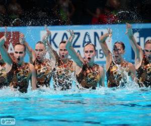 Rompicapo di Nuoto sincronizzato