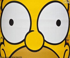 Rompicapo di Occhi di Homer Simpson