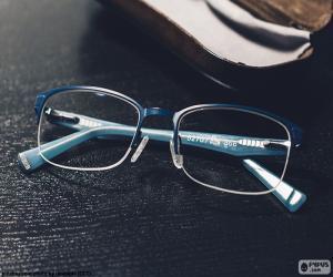 Rompicapo di Occhiali blu
