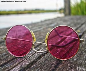 Rompicapo di Occhiali da sole rosa