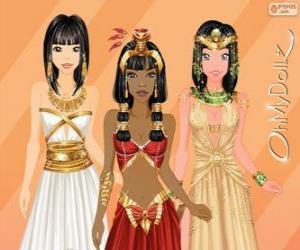 Rompicapo di Oh My Dollz egiziana