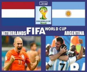 Rompicapo di Olanda - Argentina, semifinali,, Brasile 2014