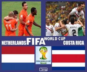 Rompicapo di Olanda - Costa Rica, quarti di finale, Brasile 2014